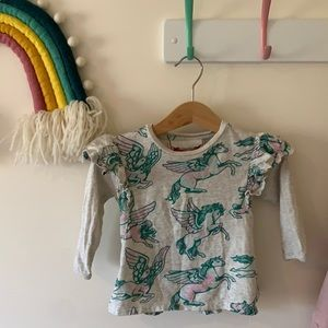 LITTLE WINGS baby top. 12 months.